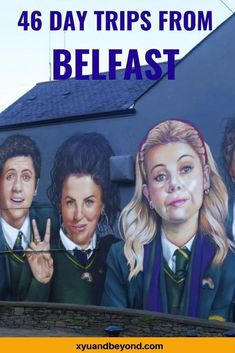Belfast Northern Ireland, Ireland Travel Guide, Londonderry, What To Pack, Budget Travel, Day Trips, Travel Guides, Road Trip, One Day Trip