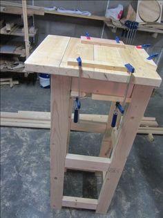 40x90 Drill Press Stand