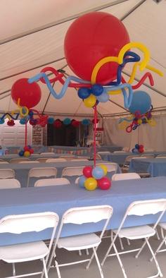 Balloon Centerpieces, Balloon Decorations, Jumbo Balloons, Table Centers, Balloon Bouquet, Sculptures, Diy, Home Decor, Table Centerpieces