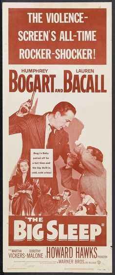 "Raymond #Chandler ""The Big Sleep"". Humphrey #Bogart, lauren #Bacall d. Howard #Hawks"