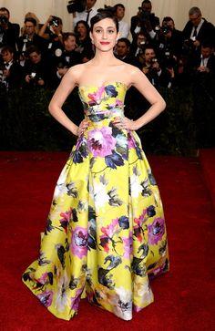 Emmy Rossum Met Gala 2014