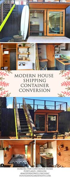 2020 Trends of Unexpectedly Cool Shipping Container Garage Conversion Plans & Ideas Shipping Container Conversions, Shipping Container Home Designs, Shipping Container House Plans, Container House Design, Cheap Shipping Containers, Container Shop, Container Houses, New House Plans, Small House Plans