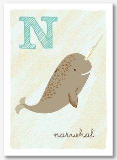 Narwhal @ Etsy