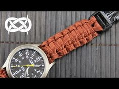 (11) How to make a (Gutted) Solomon Paracord Watch Band - YouTube