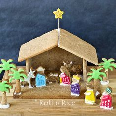 Lou Girls 10 Christ Centered Christmas Traditions I Would Love To Do A Gingerbread Nativity