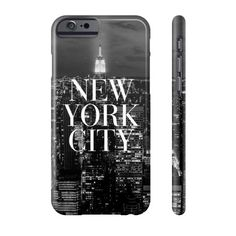New York City Vogue Skyline iPhone Case