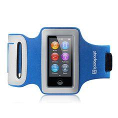 Apple iPod Nano 7 Armband By Shocksock - Blue