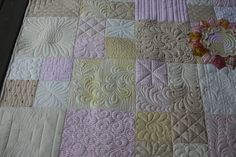 beautiful quilting more pics at site by Charisma.