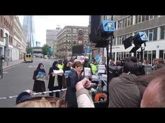CNN stages fake muslim protest - YouTube