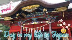 Day in my life in Japan Посылка Японский храм и чудо суп