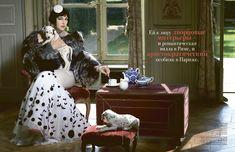 Monica Bellucci by Francesco Escalar for Tatler Russia, December 2011