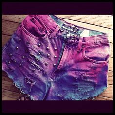 In need of doing some DIY neon shorts!