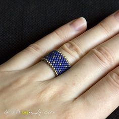 "Gefällt 45 Mal, 3 Kommentare - Sitroon (@sitroon_bijoux) auf Instagram: ""Et une petite photo portée. ---- Another picture with my little ring worn. #miyuki…"""