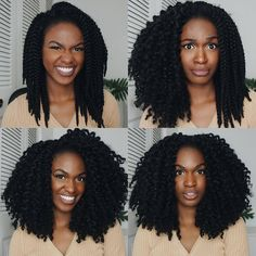"Unravelling Crochet Braids || IG: @kiitana || Outre Xpression 3D Braid (Length: 12"")"
