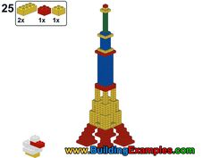 Eiffel tower duplo