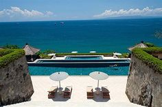 Amankila in Bali - Destination Deluxe Hotel Pool, Beautiful Pools, Bubbles, Around The Worlds, Places, Outdoor Decor, Spas, Resorts, Heaven