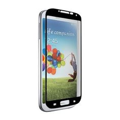 zNitro - Screen Protector for Samsung Galaxy S4 - Black