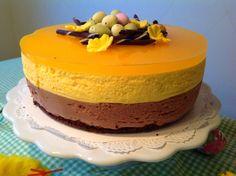 Irman ihannekakku: Pääsiäisen Suklaa-Mandariinimousse kakku