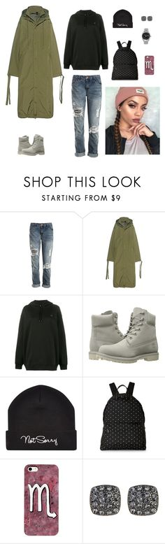 """Без названия #2630"" by gvarjusha ❤ liked on Polyvore featuring Sans Souci, Puma, Acne Studios, Timberland and Givenchy"