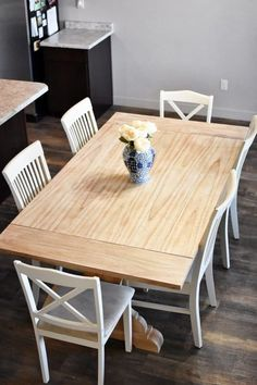 Refinishing a table can seem like a daunting task, but it doesn't have to be! Check out my beginner's guide to refinish your own kitchen table this weekend!