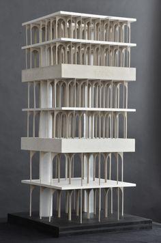 Model, arcade architecture, conceptual architecture, gothic architecture, a Arcade Architecture, Conceptual Architecture, Architecture Student, Architecture Drawings, Gothic Architecture, Amazing Architecture, Architecture Design, Architecture Models, Structural Model