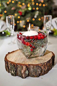 Decorazione per matrimonio invernale