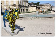 N°14 - Cow Construction - terrasse du Jardin Public Artiste Yann Muller - Propriétaire SEG FAYAT