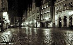#Münster Prinzipalmarkt am Abend