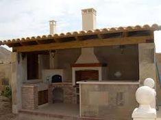 Asador de ladrillo patio pinterest - Barbacoa minimalista ...
