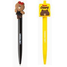 Line Friends Brown Chips Ball Pen Korea 2 New Edition #LineFriends  URL : http://amzn.to/2mOD07b Discount Code :  QP4BKMDQ