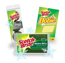FREE Scotch-Brite Cookie Baking Cleanup Kit on http://hunt4freebies.com
