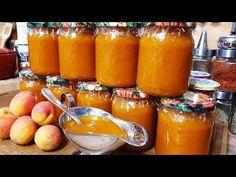 Sárgabarack lekvár befőzés/ Szoky konyhája / - YouTube Pretzel Bites, Hot Sauce Bottles, Canning, Youtube, Recipes, Food, Meal, Eten, Recipies