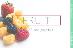 Check out FRUIT Premium 86 Hi-res Photo Package by Foodie's Feed on Creative Market! Free Food Images, Raspberry, Strawberry, Photo Packages, Blueberry, Food Photography, Custom Design, Web Design, Packaging