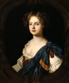 """Eleanor """"Nell"""" Gwyn (1650-1687), was a former orange seller and actress.  In 1668, she caught the attention of King Charles II and she managed to be his mistress for 17 years."""