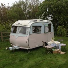 Vintage trailer...love it!