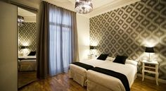 APTBCN Super Balmes Barcelona The stylish AptBcn Super Balmes apartments are located in the centre of Barcelona, just off Plaza Catalunya. Featuring a colourful and chic design, the spacious accommodation offers free Wi-Fi.