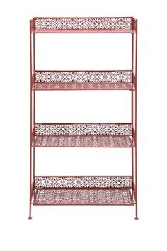 Metal Lattice Baker's Rack