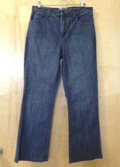 Not Your Daughter's Jeans ★ Dark Blue Jeans size 8 ★ Straight Leg Denim Pants