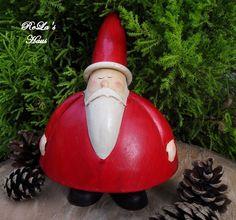 Weihnachtsfiguren - Nikolaus, Weihnachtsmann *Santa Claus* - ein Designerstück von ReLas-Haus bei DaWanda