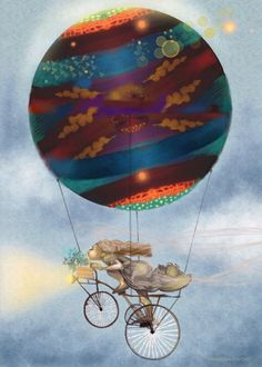 How to catch a planet Surrealism, Planets, Artworks, Fair Grounds, Art Pieces, Art