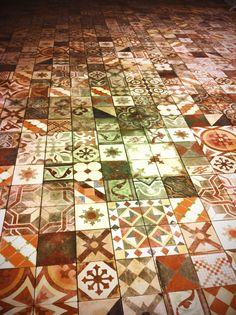 Podlaha v novom Shtoorovi v Cubicone.