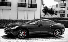 Black Spider Ferrari