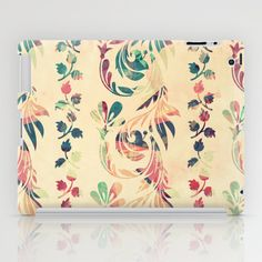 Another floral pattern iPad Case by VessDSign - $60.00