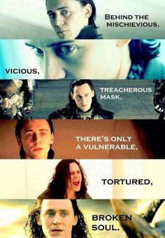 Excuse me while I have Loki feels.