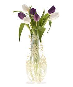 Another great find on #zulily! Ivory Lila Myvaz Expandable Vase #zulilyfinds