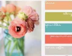 Teal And Aqua Color Palette Wedding Cake Inspiration