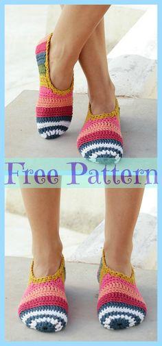 Crochet Tutorial Ideas Crochet On Point Slippers Pattern Idea Easy Crochet Slippers, Crochet Socks, Crochet Cardigan, Crochet Clothes, Crochet Dresses, Crochet Men, Crochet Gratis, Diy Crochet, Crochet Baby