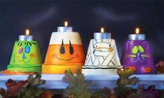 Craft Ideas : Projects : Details : spooky-candlelit-characters