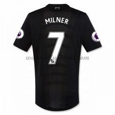 Neues Liverpool 2016-17 Fussball Trikot Milner 7 Kurzarm Auswärtstrikot Shop