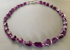Amethyst and Alexandrite necklace